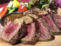 料理メニュー写真国産牛 イチボ炭火ステーキ