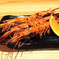 料理メニュー写真海老の塩焼き(3本)★