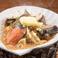 料理メニュー写真鮭とキノコのちゃんちゃん焼き