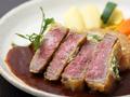 料理メニュー写真黒毛和牛ヒレ料理(ステーキ・照り焼・生姜焼・カツレツ)