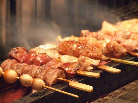 『千葉県産地養鶏』を使用した知る人ぞ知る鶏専門店!通も絶賛の本格焼鳥をどうぞ!