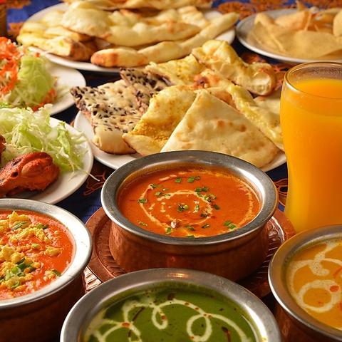 本格インド料理を堪能!