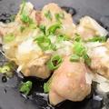 料理メニュー写真大山鶏のレバとろ