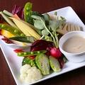 料理メニュー写真スティック野菜バーニャカウダ S/L