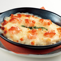 料理メニュー写真北海道十勝産チーズのプリプリえびグラタン