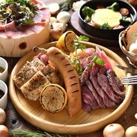 『GABURICOの肉盛りプレート』