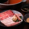【食べ放題コース充実】黒毛和牛ロース・マテ茶鶏・タンしゃぶ・寿司13種類等、食べ放題コース充実!からあげ・キムチ・ポテトフライ・揚げシュウマイ等、サイドメニューも付いた、大満足コースとなっております。