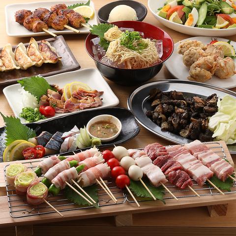【2時間飲み放題付き◎】人気料理10品を堪能できる3850円コース(税込)