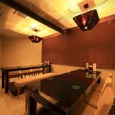 ◆6Fの店内◆6名様用の個室。つなげて12名までの団体様も!