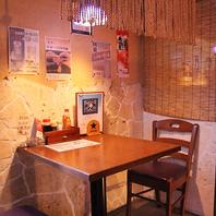 楽しい雰囲気で食べ沖縄料理に舌鼓