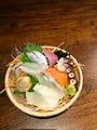 料理メニュー写真昆布〆刺身盛(1人前)
