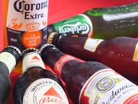 世界のビール・ワインあり!