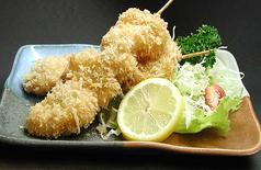 料理メニュー写真串カツ(とり・ぶた)