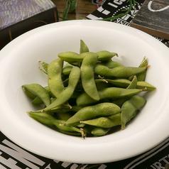 料理メニュー写真塩茹で枝豆
