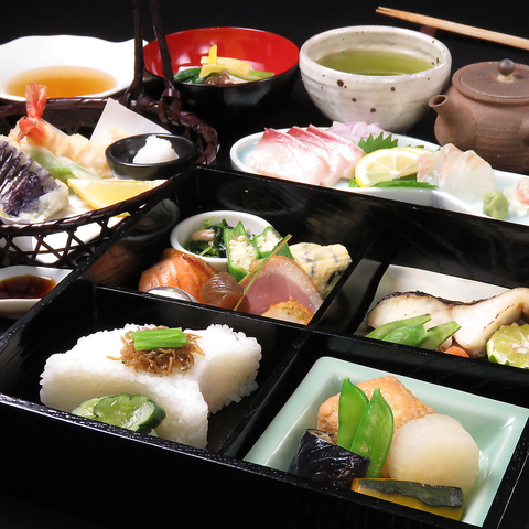 完全予約制!阪急伊丹駅からすぐ!茶室で絶品割烹ランチがいただける。