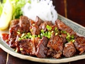 料理メニュー写真馬肉のステーキ