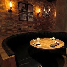 大人の隠れ家のようなシックな雰囲気のお席もご用意★落ち着いた空間でお食事をお楽しみ頂けます♪人気のお席なのでご予約はお早めに!