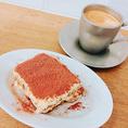 イタリアンのデザートといえば『ティラミス』!食後のコーヒーor紅茶とご一緒にいかがですか?
