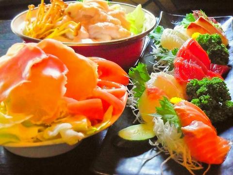 毎朝市場で競り落とした新鮮な魚料理は絶品!本格カクテルもおススメ!!