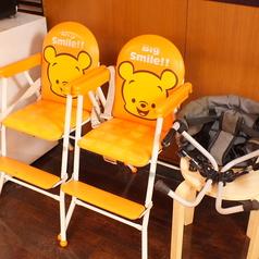 ママにも優しい無料のお子様用椅子