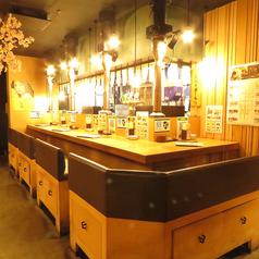 広めのソファーカウンターです!札幌駅2分とアクセス抜群ですのでお買い物帰りやデートにピッタリ!