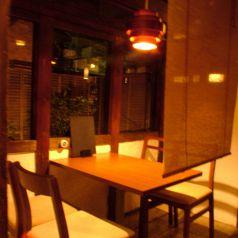 ★4名テーブル★和の雰囲気漂う店内は◎
