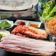韓国家庭料理 オモニソンのコース写真