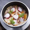 料理メニュー写真蛸の釜飯