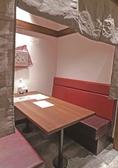 半個室のBOX席は女子会やデート、ご家族連れなどプライベート空間でまったりするのにオススメです。