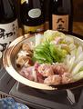 料理メニュー写真みそ鶏つみれ鍋(1人前)