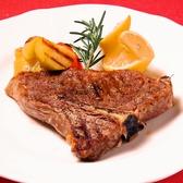 ブラックアンガスのTボーンステーキや、素材に拘ったイタリアンのメニュー多数!