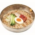 料理メニュー写真梅しそ冷麺/牛角冷麺/石鍋ごまねぎ塩ラーメン
