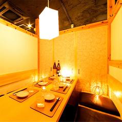 JR新宿駅東口から徒歩1分!2名様から少人数席でご案内可能!宴会場は最大50名様まで収容可能で大規模な宴会まで◎