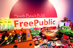 Free Public South Beach BARのコース写真