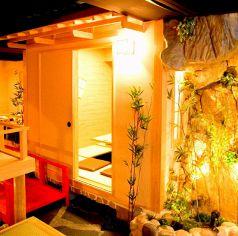 隠れ家個室と和食処 福家 新宿店の特集写真