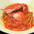 料理メニュー写真ワタリ蟹のトマトクリーム