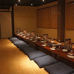 最大18名まで☆宴会用お座敷個室。※写真は系列店です。