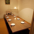 14名様までご案内可能な完全個室★飯田橋で飲み会、宴会なら当店で!食べ放題メニューもご提供しております。いつもより少し贅沢に黒毛和牛のしゃぶしゃぶ食べ放題はいかがでしょうか。黒毛和牛の旨味を思う存分ご堪能ください!昼宴会のご予約も受付中。詳しくは店頭までお問い合わせください♪
