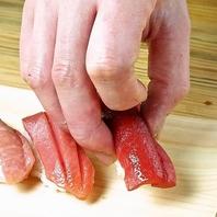 職人が握る『江戸前寿司』はネタごとに異なる味付けを