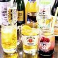 ワインも数多く取り揃えています。また生の果実感が美味しいフルーツジャー♪料理などを長時間保存するための広口の容器。英語では「広口びん」の意。フルーツジャーで飲む「生」なフルーティー!カットフルーツを皮ごと搾り入れることでフルーツ感が倍増。柑橘類は皮に美味しい香りが詰まっています。