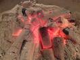 素材の旨みを大切に炭火で焼きます。