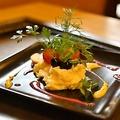 料理メニュー写真華やかな自家製ポテトサラダ