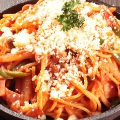 鉄板ナポリタン/ツインコロッケ/トマトチーズのドリア