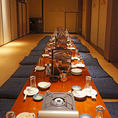 最大30名まで☆宴会用お座敷個室。※写真は系列店です。