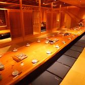 大部屋36名テーブル。