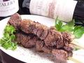 料理メニュー写真牛串ジャンボ