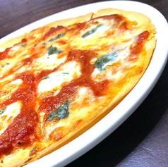 トマトとバジルの定番マルゲリータ