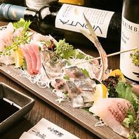 天然鮮魚とワインに自信あり!