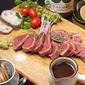 料理メニュー写真牛ハツのステーキ