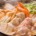 料理メニュー写真海鮮ちゃんこ鍋(2人前より承ります)